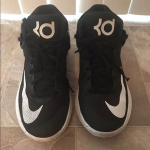 Nike Kd Black Shoes for Youth Boys 6Y